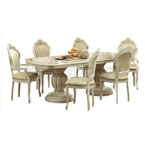 italian dining table sets classic italian dining set extendable leonardo on sale