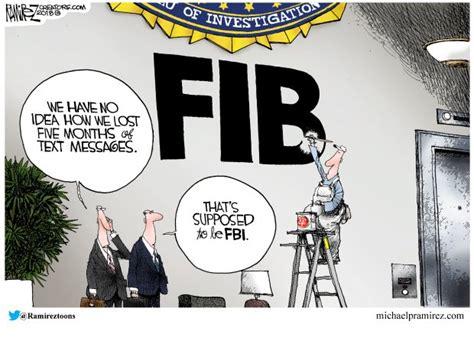 fbi    acronym political cartoons daily news