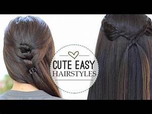 Cute Easy Hairstyles YouTube