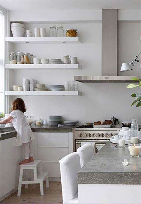 kitchens  open shelving  fresh laundry