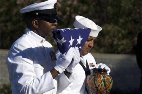 navy renders honors  funeral  ernest borgnine
