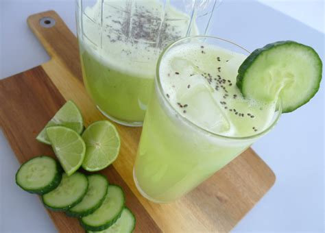 cucumber lime chia seed agua fresca keeprecipes
