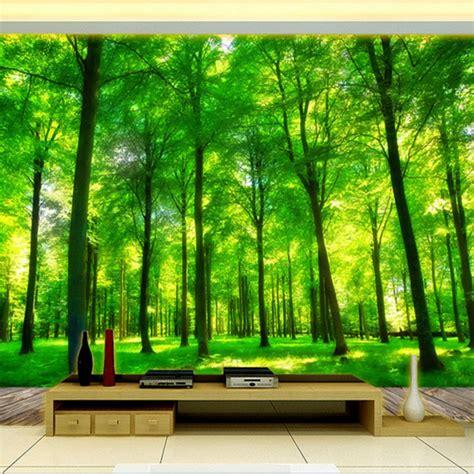 effect custom photo wallpaper living room bedroom