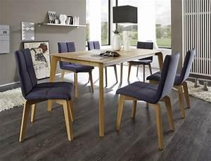 Esstisch 6 Stühle : sitzgruppe esstisch linao b 160x90 cm eiche 6 st hle manja 2 jeans wohnbereiche esszimmer ~ Eleganceandgraceweddings.com Haus und Dekorationen