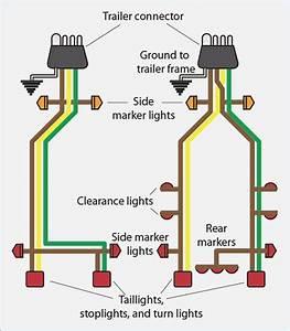Trailer Connector Wiring Diagram 4 Way  U2013 Vivresaville Com