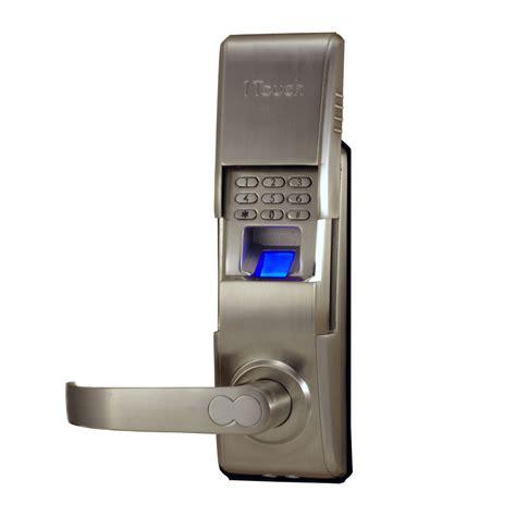 biometric door lock 1touch evo3 indoor outdoor fingerprint door lock gokeyless