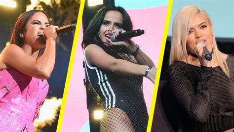 Natti Natasha, Becky G Y Karol G, Entre Las Artistas Más