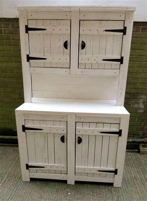 wooden pallet kitchen cabinets pallet kitchen cabinets hutch