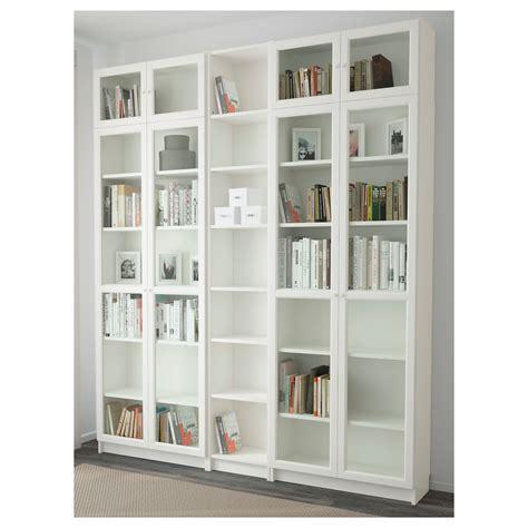 Billyoxberg Bookcase White 200 X 237 X 30 Cm Mieszkanko