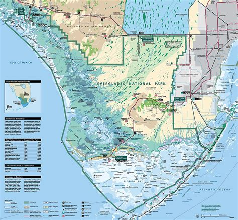 map   everglades florida everglades map