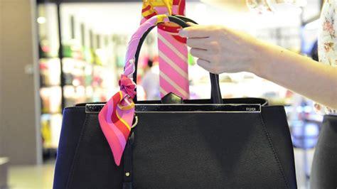 purse scarf tutorial luxury city youtube
