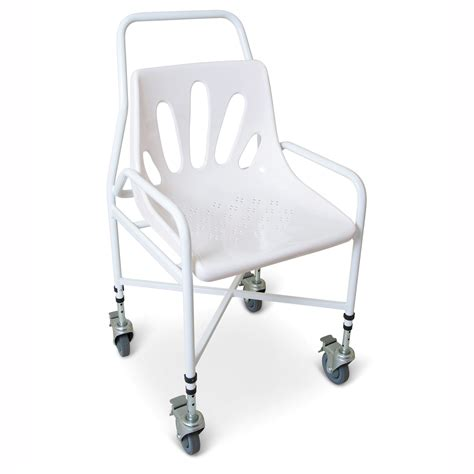 Positions In Shower Mobile Height Adjustable Shower Chair