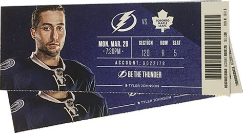foto de Win two Lightning hockey tickets from Tampa Electric