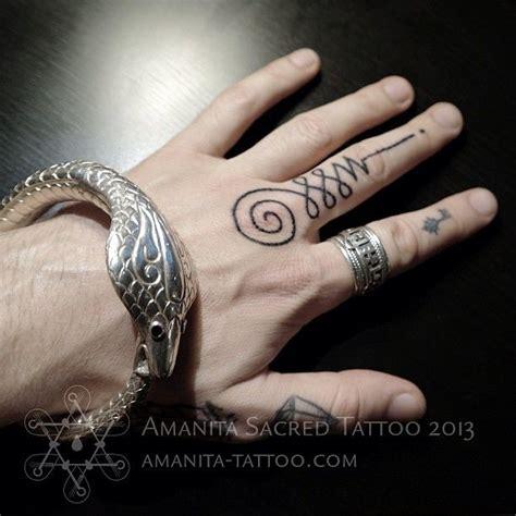 ma hand poked tattoo  colin dale tattoo