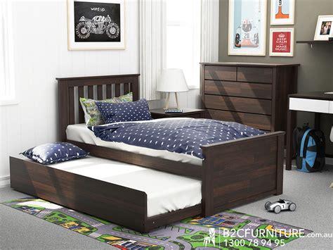 Dandenong Trundle Bed Single Kids Beds Bc Furniture, Kids