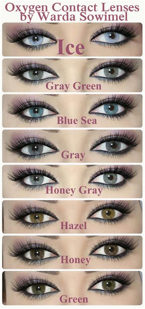 eye contact color best 25 eye contacts ideas on eye contact