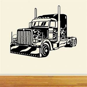 Big rig truck svg cut file based on optimus by for Semi truck lettering ideas