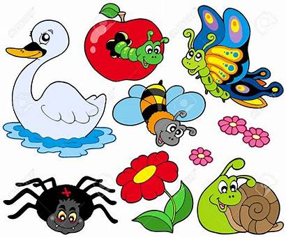 Animals Clipart Animal Cartoon Fly Flying Butterfly