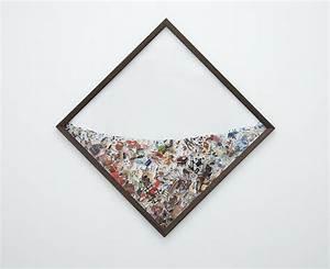 Photographic collages suspended in plexiglas colossal for Photographic collages suspended in plexiglas