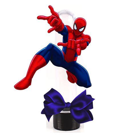 10 Tubetes Homem aranha no Elo7 Brl Flex Festas (652BFC)