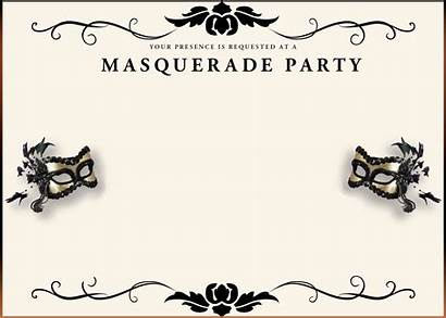 Masquerade Invitation Invitations Template Templates Printable Party