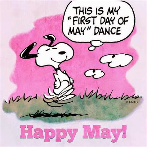 Hello Everyone!: Welcome May, goodbye April | Snoopy ...