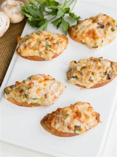 crab canapes crab canapés recipe jokes and will
