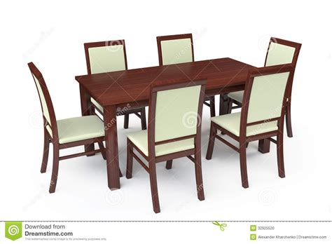 dining table and six chairs uhuru furniture collectibles