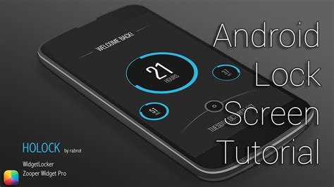 android lock out holock by rabrot android lock screen tutorial