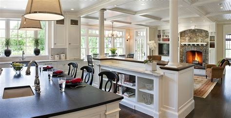 kitchen and living room open concept designs open concept kitchen living room design ideas 9640
