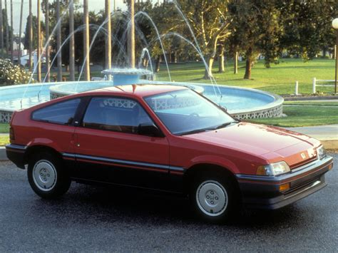 honda civic crx  pictures information specs