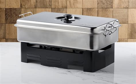 Fumoir Cuisine - fumoir de table en inox colichef
