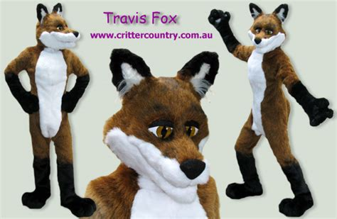 travis fox fursuit  ozkangaroo  deviantart