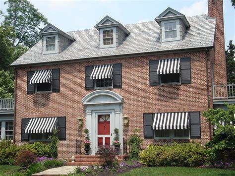 awnings for homes residential awnings a hoffman awning co