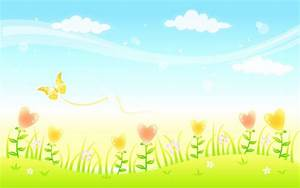 Animated Nature Flower PPT Backgrounds 1024x768 ...