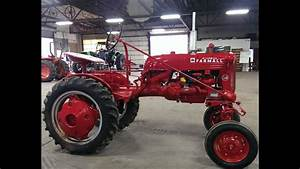 Farmall Cub Tractor 1952 Coming Up For Sale April  2016 In