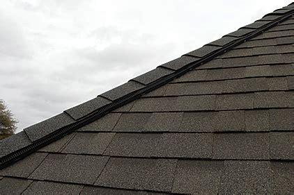 Venting A Hip Roof by Hip Ridge Vent Provides Solutions 2012 07 01 Roofing