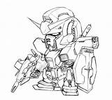 Gundam Coloring Rx Deviantart Sd Drawings Suit Mobile Th07 Printable Sheets App Robot Sketch Template sketch template