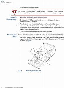 Verifone V200cp Point Of Sale Terminal User Manual
