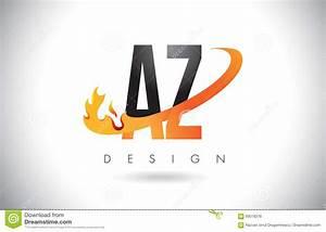 Blumenarten Az Mit Bild : az ein z buchstabe logo mit feuer flammen design und orange swoosh vektor abbildung bild 93018376 ~ Whattoseeinmadrid.com Haus und Dekorationen
