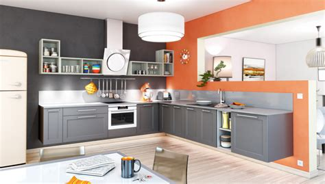 couleur mur de cuisine une cuisine colorée 7 idées pour apporter de la couleur