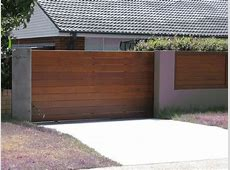 Vehicle Sliding Driveway Gates — Home Ideas Collection