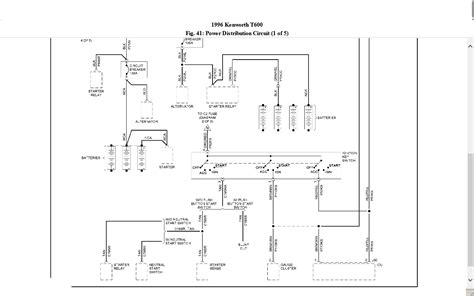 2007 Kenworth Truck Wiring Diagram by 1993 Kenworth T600 Cab Wiring Diagram Wiring Library
