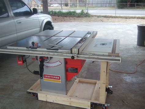 Cabinet Table Saw Mobile Base by Tablesaw Mobile Base Router Table Extention Wing
