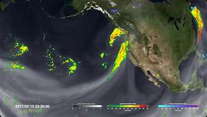 Satellite imagery shows West Coast getting pummeled by ...