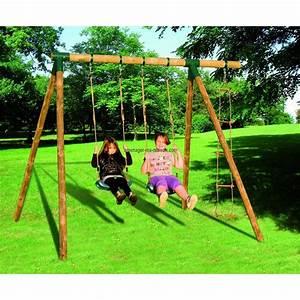 Balancelle Bois Jardin Jardin Sur EnPerdreSonLapin