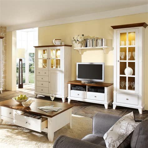 Wohnzimmer Weiße Möbel by Landhausstil M 246 Bel Wei 223