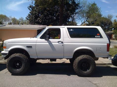 Ford Bronco Lift Kit by New Six Inch Lift Kit Bronco Zone Feature Truck Ford