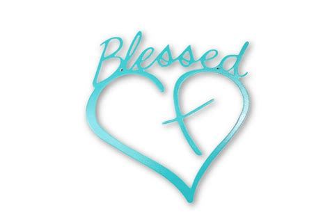 Blessed W/heart And Cross