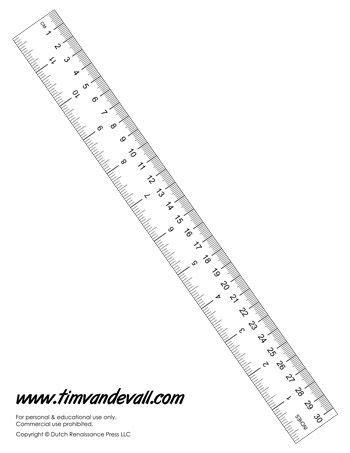 printable paper ruler  math class  centimeters